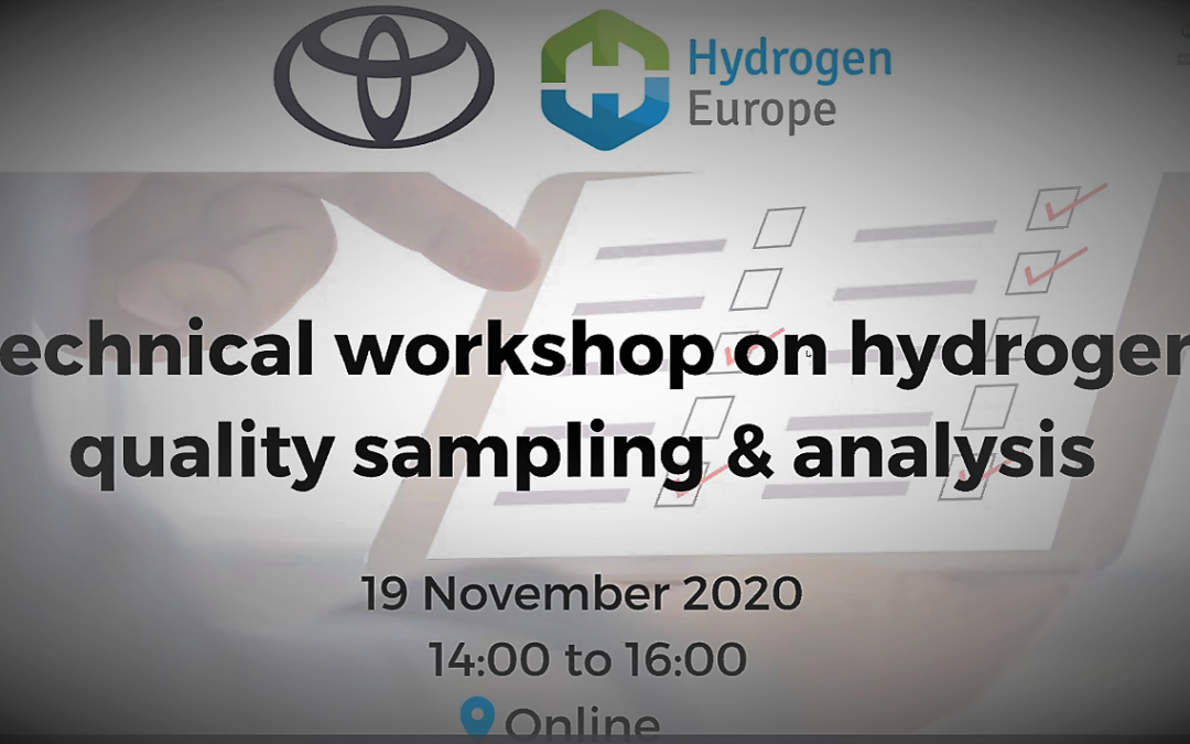 """HYDRAITE contribution to the webinar on H2 quality sampling & analysis organized by TME and HE"""" 19th of November 2020"""