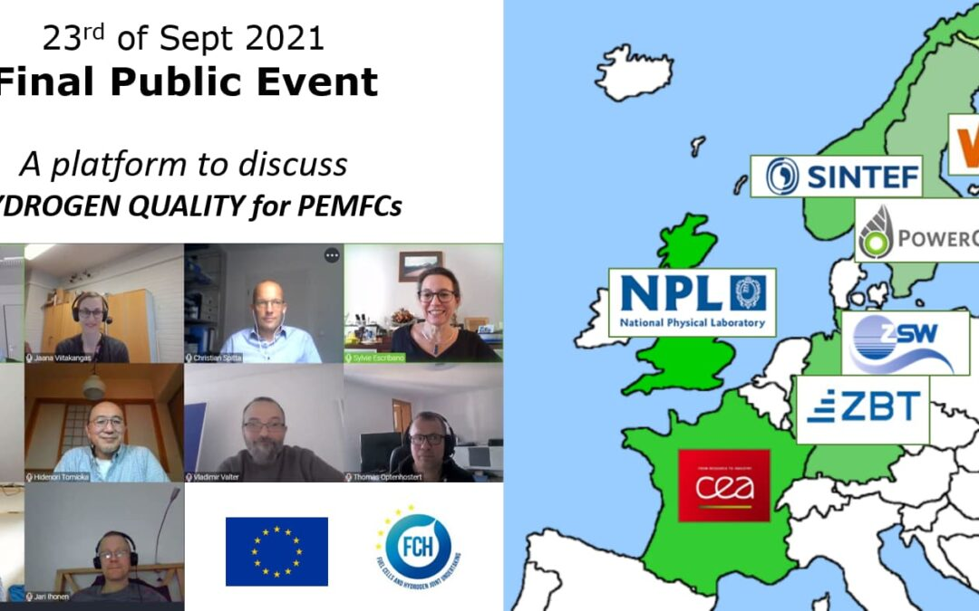 HYDRAITE Final Event – A platform to discuss Hydrogen Quality for PEMFCs